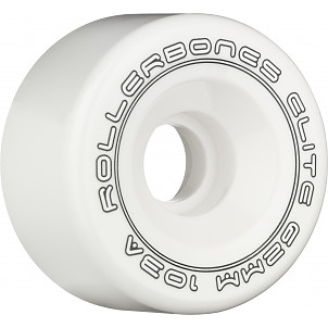 Rollerbones Art Elite Competition Wheels 62mm 103A 8pk White