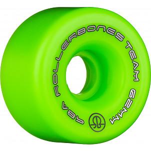 Rollerbones Team Logo 62mm 98A 8pk Green