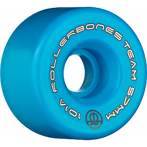 Rollerbones Team Logo 57mm 101A 8pk Blue