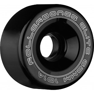 Rollerbones Art Elite Competition Wheels 62mm 101A 8pk Black