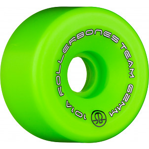 Rollerbones Team Logo 62mm 101A 8pk Green