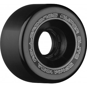 Rollerbones Art Elite Competition Wheels 57mm 103A 8pk Black