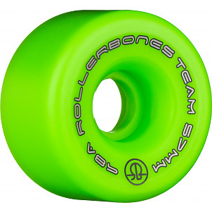 Rollerbones Team Logo 57mm 98A 8pk Green